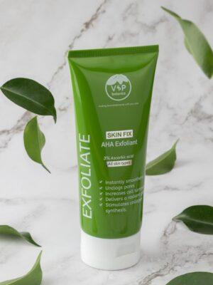 AHA Exfoliate natural skincare