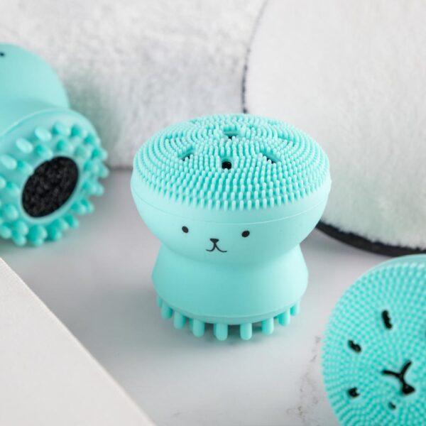 Silicon Massaging Brush
